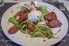 Yummy Salad (cunningba) Tags: 2014 76grandrue chezadrien europe fontvieille france grandrue provence egg pizzaria restaurant salad sausage tomato ©2014barrycunningham provencealpescôtedazur fr