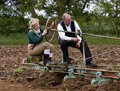 'Homefront' (andrew_@oxford) Tags: 1940s land army ploughing agriculture homefront reenactment reenactors timeline events