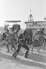 MC (mooet) Tags: 2017 bw burningman dslrscan film usa xtol11 trix400 kodak filmphotography dust nevada blackrockcity brc2017 bm2017 playa dance people fun smile tits