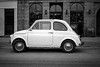 Cars - Ilford Delta 400 (magnus.joensson) Tags: denmark copenhagen street contax t2 contaxt2 ilford delta 400 develop adox adonal 125 epson v800 scan car