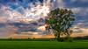Ammersee HDR (schlawiner1985) Tags: ammersee hdr mehrfachbelichtung sonne wolken baum feld sonnenstrahlen