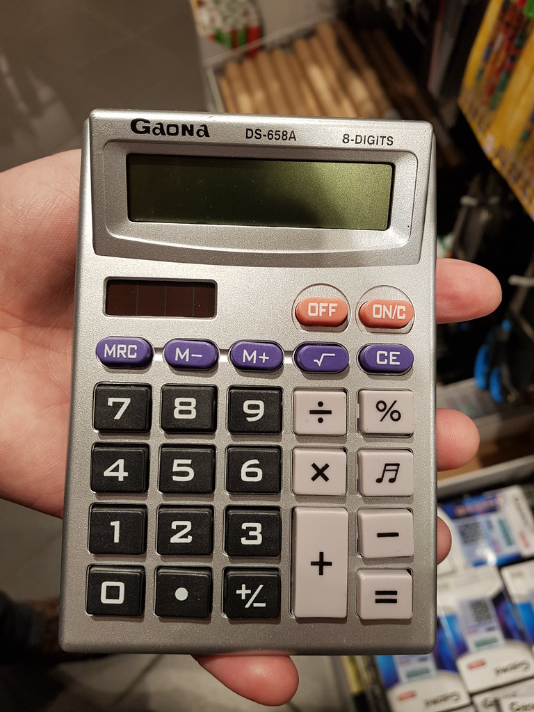 Gaona Calculator