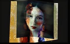 retrato triste 7 (skizo39) Tags: portrait woman collage layers art digitalprocessing digitalart digitalpainting photomanipulation colors colorful graphical design creation artistic mujer retrato sad triste emotion