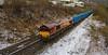 A HINT OF SNOW (fenaybridge) Tags: bins binliner garbage energy dbc ews 66 66065 eastwood calder todmorden knowsley wilton 6m16