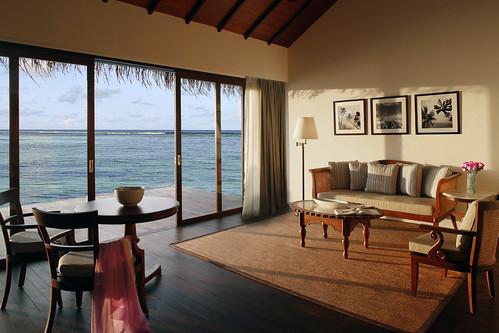 Water Villa - Living Area