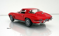 1965 Chevrolet Corvette Sting Ray Sport Coupe (JCarnutz) Tags: 124scale diecast franklinmint 1965 chevrolet corvette stingray