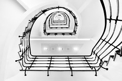 (crosslens) Tags: rathaushörn stairwell staircase stairs hamburg