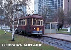 H363, Victoria Square, Adelaide, SA. (dunedoo) Tags: hclasstram glenelgtram victoriasquare adelaidetrams adelaide southaustralia sa australia