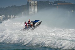 Surf was even a challenge for the jet skis (noompty) Tags: currumbin beach goldcoast queensland surf surfer jetski wave water ocean pentax k1 on1pics photoraw2018 2018 hddfa150450f4556eddcaw