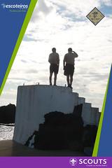 Eu e B.P. (chefiaregional) Tags: euebp escoteiros escoteirosdeportugal crao atividaderegonal diado pensamento rosario lagoa alcateia tribodeescoteiros tribodeexploradores clã