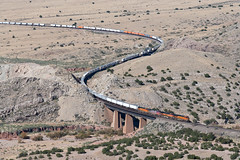 BNSF 7707 East in Abo Canyon, NM (thechief500) Tags: abocanyon bnsf clovissubdivision railroads nm usa newmexico
