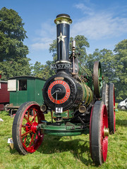 Shrewsbury Steam Rally 2017 (Ben Matthews1992) Tags: shrewsbury salop shropshire england british britain old vintage historic preserved preservation vehicle transport steam traction engine 1910 foster agricultural general purpose 12539 winnie ma5730