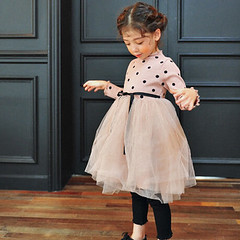 Kiskissng Polka Dot Tulle Dress (kiskissing) Tags: kiskissing polkadot kidsclothing girlsdress