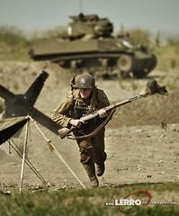 D-Day Conneaut Reenactment (Lerro Photography) Tags: worldwarii wwii reenactment ddayconneaut ohio dday reenactor vintage uniforms tank soldier
