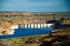 Glen Canyon Dam - AZ USA (A. E. Newman) Tags: usa 2017 vacations lakepowel travel arizona page unitedstates us
