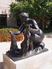 The Large Bather (procrast8) Tags: kansas city mo missouri nelson atkins museum sculpture large bather pierre auguste renoir art