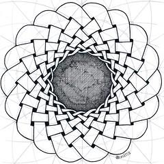20180128_3 (regolo54) Tags: celticknot celtic knot geometry symmetry mathart regolo54 circle disk handmade torus torso toroid