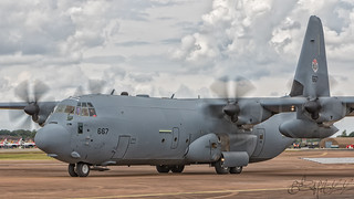 Israeli Air Force Lockheed C-130J-30 Hercules 667-3