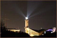 Leuchtturm bei Nacht (der bischheimer) Tags: leuchtturm warnemünde nacht teepott ostsee baltic canon derbischheimer