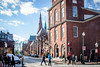Beacon Hill (flrent) Tags: boston city street snow winter ville massachusetts beacon hill