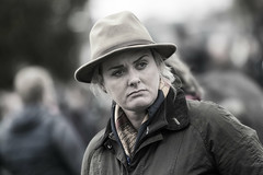 Questioning look (Frank Fullard) Tags: frankfullard fullard question wonder serious face hat lady style stylish candid street portrait ballinasloe galway irish ireland horsefair fair anxious