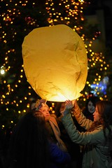 wishes (Stathis C) Tags: wishes balloons night a7riii 7rm3 art christmas karpenisi greece
