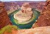 Incredible Horseshoe Bend view, Arizona, USA (Andrey Sulitskiy) Tags: usa arizona coloradoriver horseshoebend
