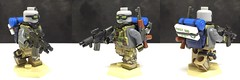 PMC - detailed (LJH91) Tags: pmc operator lego custom military minifigure tactical backpack m4 camo