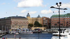 Stockholm_City 1.19, Sweden (Knut-Arve Simonsen) Tags: stockholm sweden sverige strandbryggan boats ferry ferries quay boat sailboats sailboat norden scandinavia скандинавия