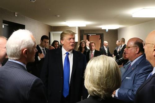 President Trump Arrives in Davos