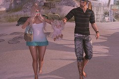 #536 (Tia Westminster 2Life4u Blog Owner) Tags: secondlife avatar mesh family poses animation bento female woman male men child girl beach sand besom luxebox seniha senseevent lazo bebe catwa maitreya signature fashionatic