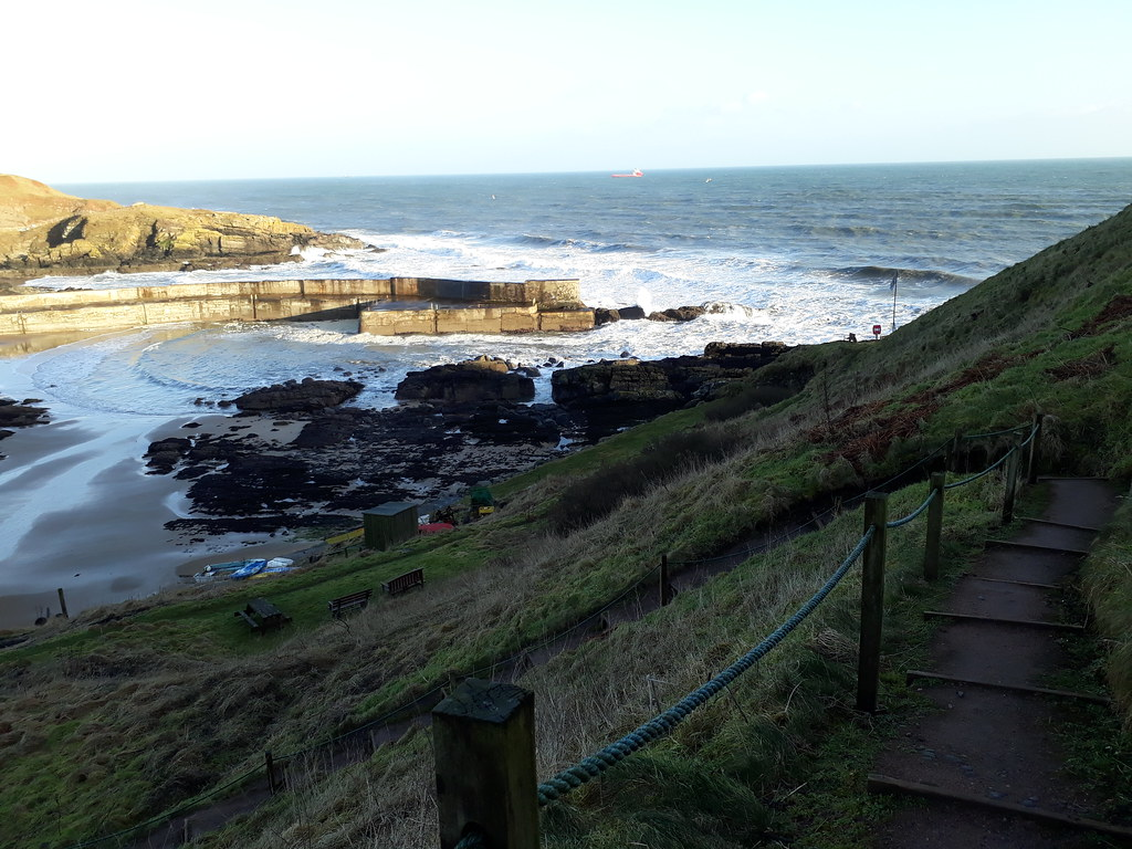 Collieston cove
