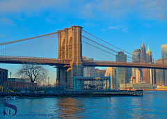 Bridges of the world Brooklyn bridge and janes Carousel (Singing With Light) Tags: 19th 2016 2017 alpha6500 brooklyn brooklynbridge january morningside nycmirrorless singingwithlight a6500 photography singingwithlightphotography sony