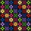 107.5-b (quilt-addicts) Tags: patchwork quilt quilting quiltaddicts precutquiltkit chinesecheckers modern easy