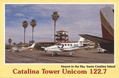 AVX02 (By Air, Land and Sea) Tags: airport postcard avx catalinaisland avalon california catalinaairport