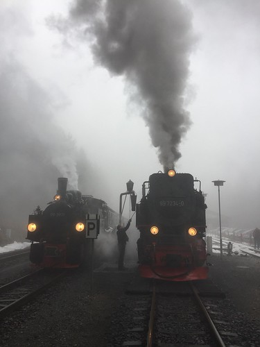 Steamer, light railway