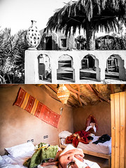 Auberge Kasbah Dar Sahara Tours, Mhamid, Morocco (overzine) Tags: morocco travel mhamid