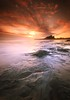 The Rough with the Smooth (Stu Patterson) Tags: bamburgh sunrise seascape stu patterson northumberland
