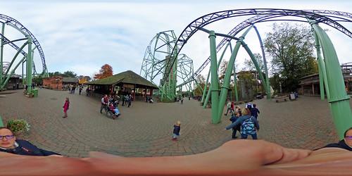 Hansa Park - Der Schwur des Kärnan 360 Grad