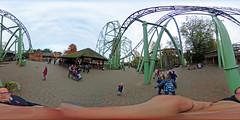 Hansa Park - Der Schwur des Kärnan 360 Grad (www.nbfotos.de) Tags: hansapark derschwurdeskärnan achterbahn rollercoaster 360 360gradfoto ricohthetas freizeitpark vergnügungspark themepark sierksdorf