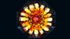 Bildschichten Fruechteteller 60 (wos---art) Tags: früchte arrangements stillleben fotografie bildschichten früchteteller obstteller geschnittenesobst früchtestücke inliebe füresther obst orangen kiwi banane birne himbeeren ananas weintrauben apfel
