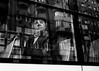 Untitled (Alex Cruceru) Tags: street streetphotography stradal story streettogs monochrome moments blackwhite bw reflections face man balcony bus building architecture facade