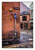 Thats Belfast.. (leannemartin2751) Tags: ulster corner cobbles bricks signs bicycle gordonstreet belfast street photography sunday morning canon 80d sigma1850mm quiet photochallenge
