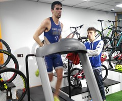Adrián Mancheño triatlón Indoor team clavería triatlón World 5