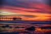 Scripps Pier - La Jolla, Ca (Rising Mist Photography) Tags: lensbaby lensbabymycity lensbabyphotochallenge lensbabytwist60 scrippspier sunset sky sea ocean landscape water pier lajolla sandiego