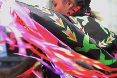 Indian Tribal Dancer, Canada (klauslang99) Tags: klauslang americanindian tribal dance clothes movement dancing swirl person