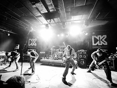 Watch My Dying mills (un2112) Tags: dürerkert wmd watchmydying concert gig koncert metal music rock budapest laowa75mm laowa75 blackandwhite monochrome bw january