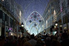 Málaga, Iluminación navideña