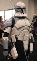 2015-Fan Dressed Up as a Clone Trooper at Star Wars Celebration VII Anahiem-02 (David Cummings62) Tags: ca calif california con david dave cummings 2017 starwars movie movies starwarscelebrationvii anahem la clonetrooper fan dressedup cosplay