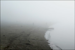 Beachgoer (HereInVancouver) Tags: fog beach weather ocean pacific water vancouverswestend winter englishbay vancouver bc canada canong3x candid thingstodobythewater